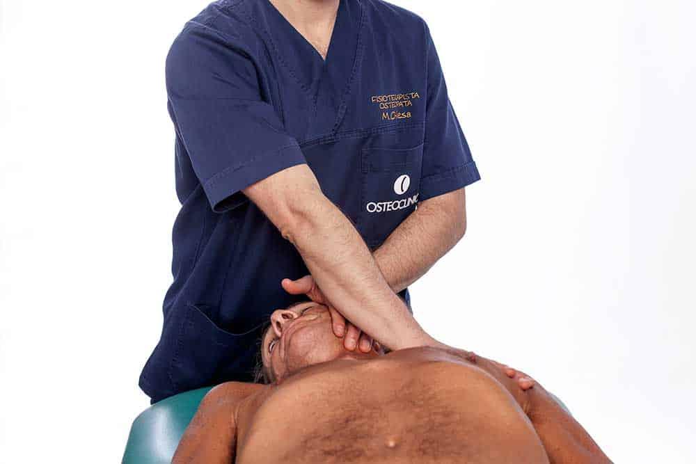 Osteopata Brescia dolore al collo