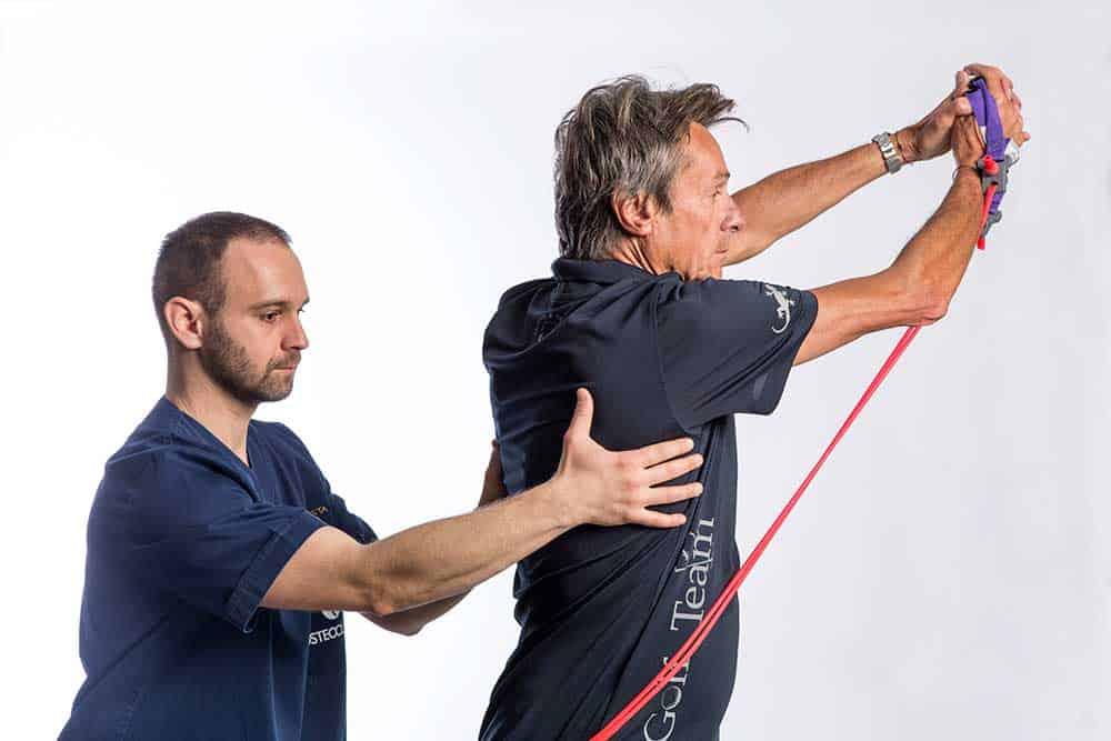 Terapia del dolore cronico e prevenzione infortuni con rinforzo muscolare e allenamento allo sforzo