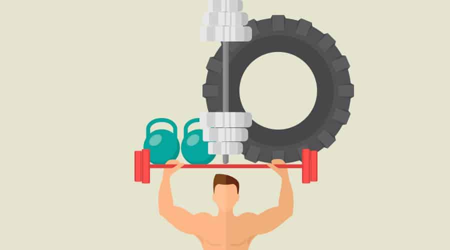 Allenamento con i pesi in riabilitazione