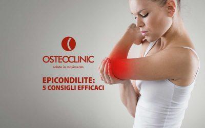 Epicondilite: Sintomi, Cura ed Esercizi