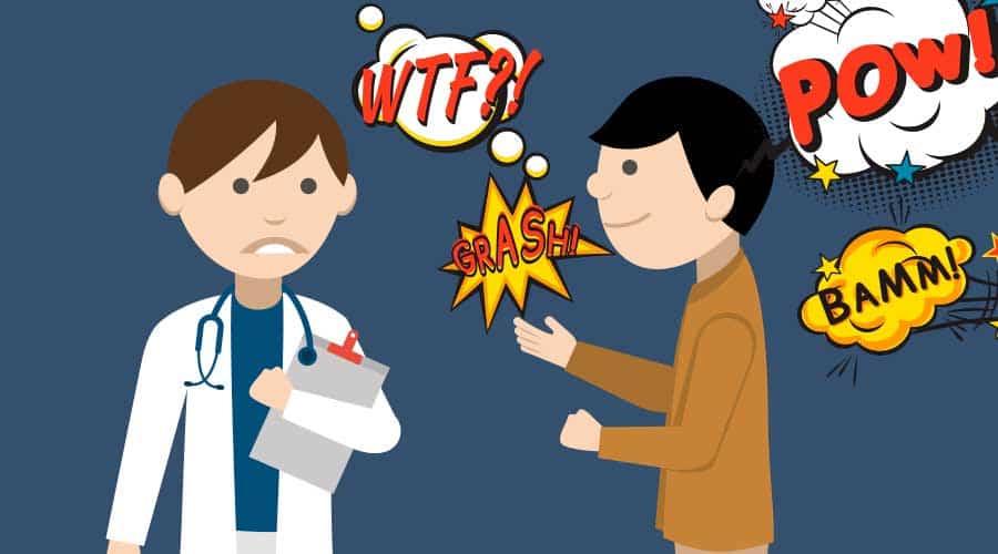 quando il medico non capisce e il paziente si preoccupa: il dolore incompreso del paziente