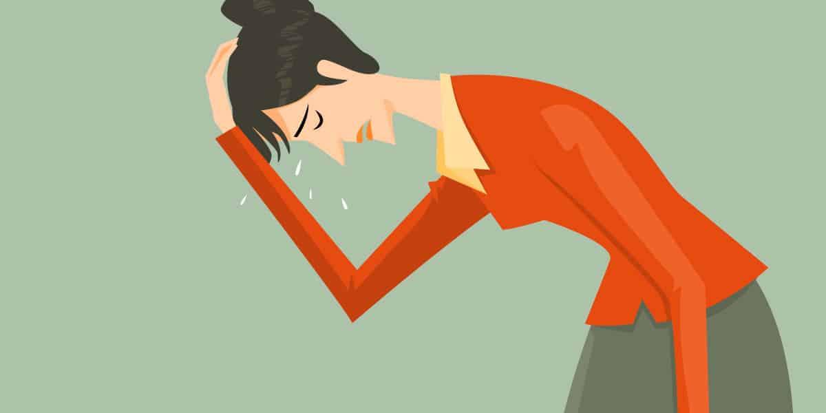 donna non capisce perché sente bruciori muscolari e articolari