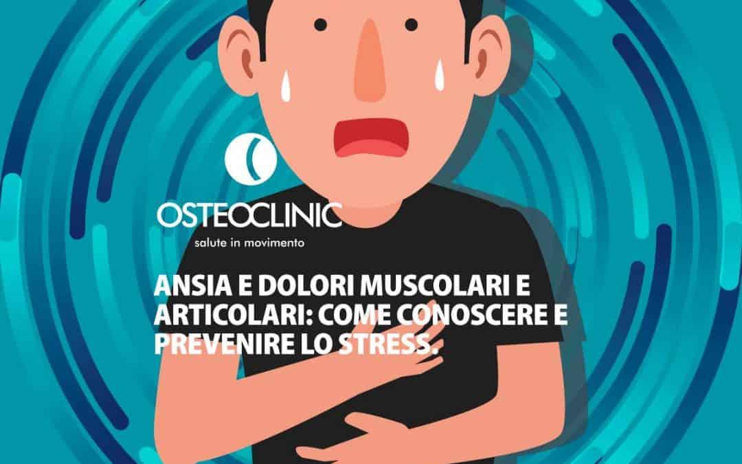 Come l'ansia provoca dolori muscolari e articolari. Diagnosi e cura