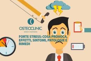Sintomi, effetti e patologie provocare da un forte stress