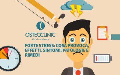Cosa provoca lo stress? Sintomi, effetti, patologie e rimedi