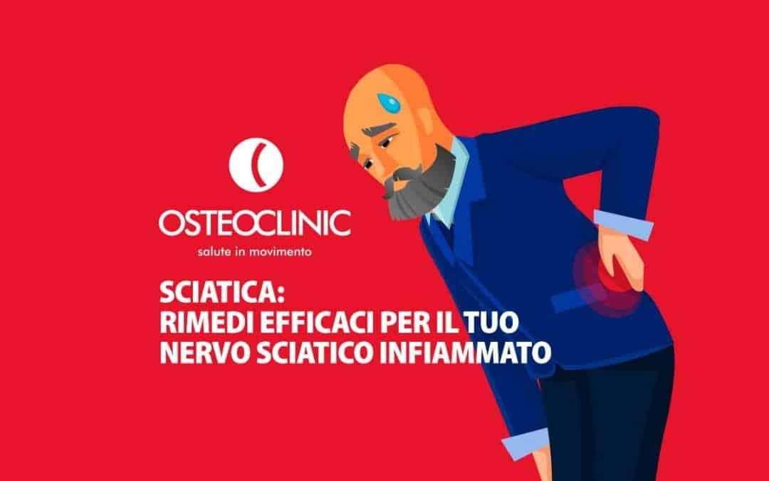 Sciatica, rimedi efficaci per il tuo nervo sciatico infiammato