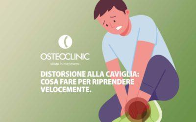 Distorsione alla caviglia: COSA FARE + ESERCIZI [VIDEO] per recupero